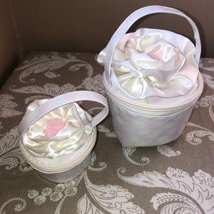 American girl, bitty baby cupcake purse set